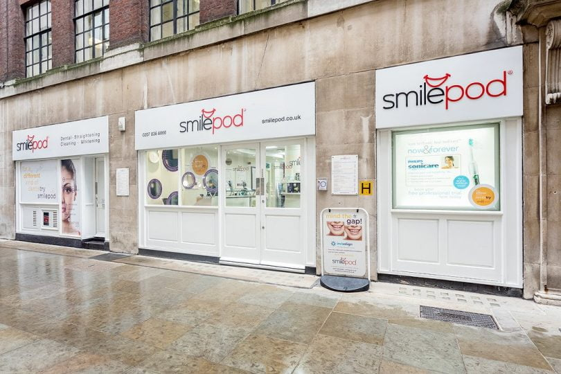 Smilepod - Bank Londres